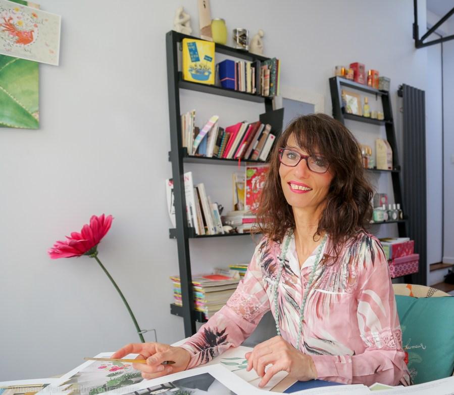 ©Véronique Milioni, Graphiste et Créatrice de sa marque destinée au professionnels de l'aménagement intérieur