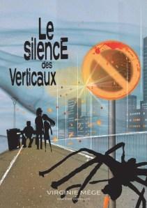©Véronique Milioni, graphisme, illustration du livre Le silence des Verticaux