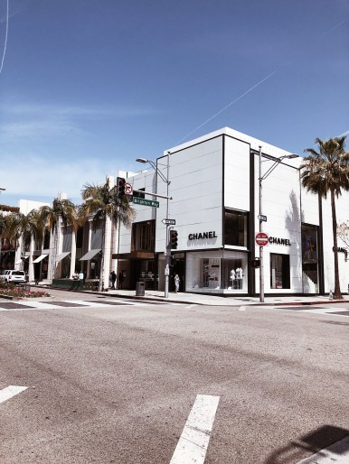 Road Trip, Los Angeles, California, Kalifornien, LA, Rodeo Drive, Chanel, Shopping
