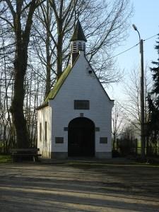 Kapel Ter Muilen. Genoemd naar Maria gezeten op een muilezel.