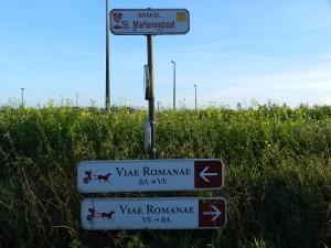 De Brunehautwegen zijn kaarsrechte wegen komende vanuit het Noord-Franse Bavay.