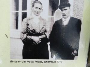Albijn en zijn vrouw Mietje.