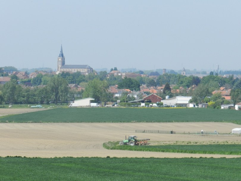 Kommiezenroute - Circuit des Gabelous - uitzicht Frans-Vlaanderen