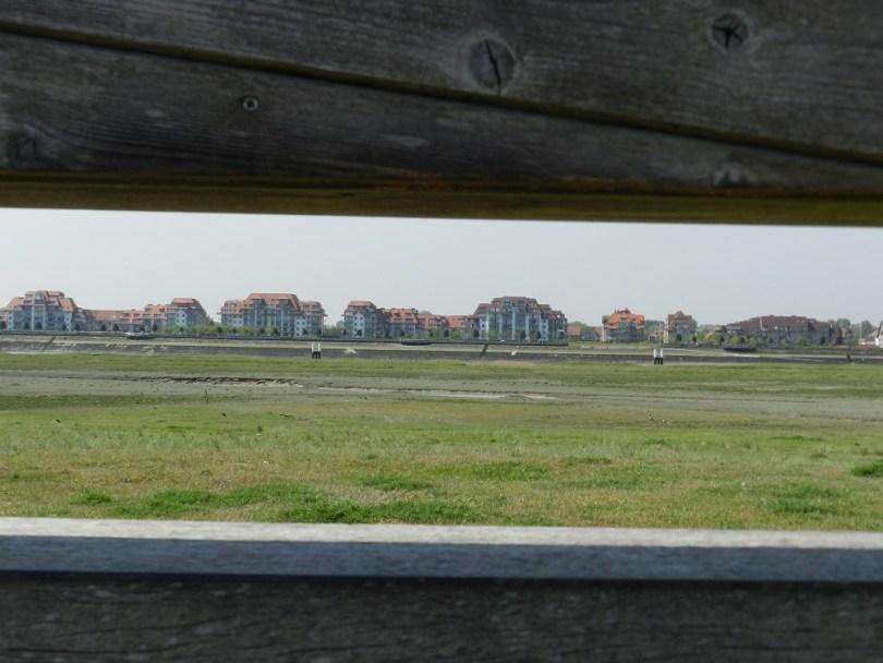 Vogelkijkhut in natuurgebied IJzermonding