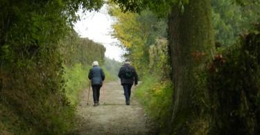Altenbroekwandeling - holle weg in Noorbeek