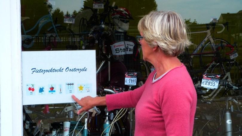 Fietszoektocht Oosterzele - fietsen Stefan Balegem
