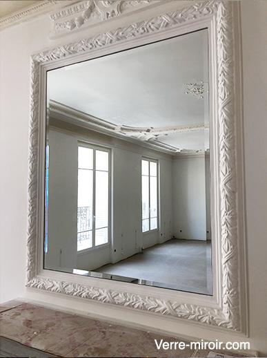 verre miroir com