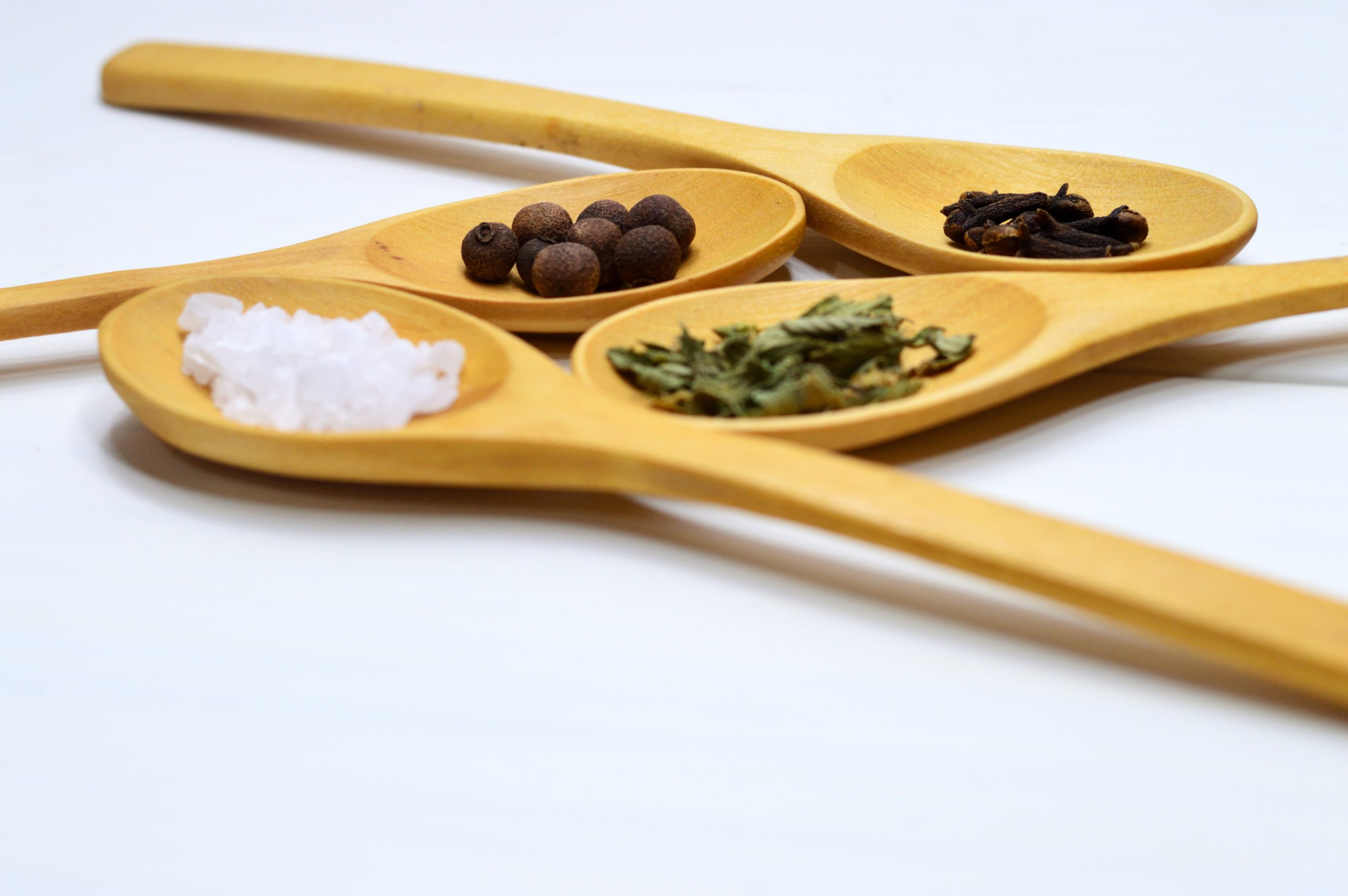 Food and drink PR for spicing up catering company - spices on spoons