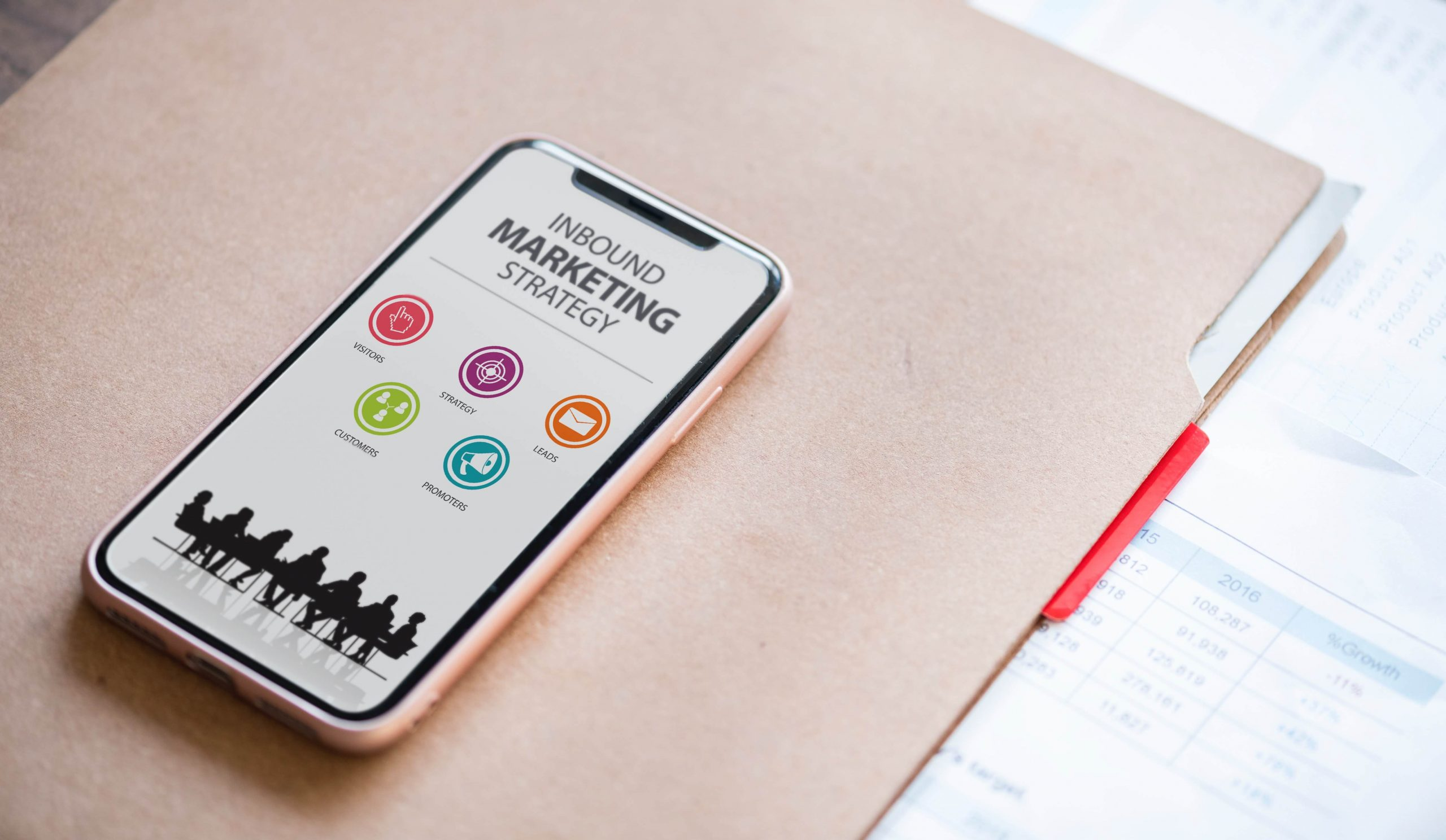 Inbound marketing strategy on mobile