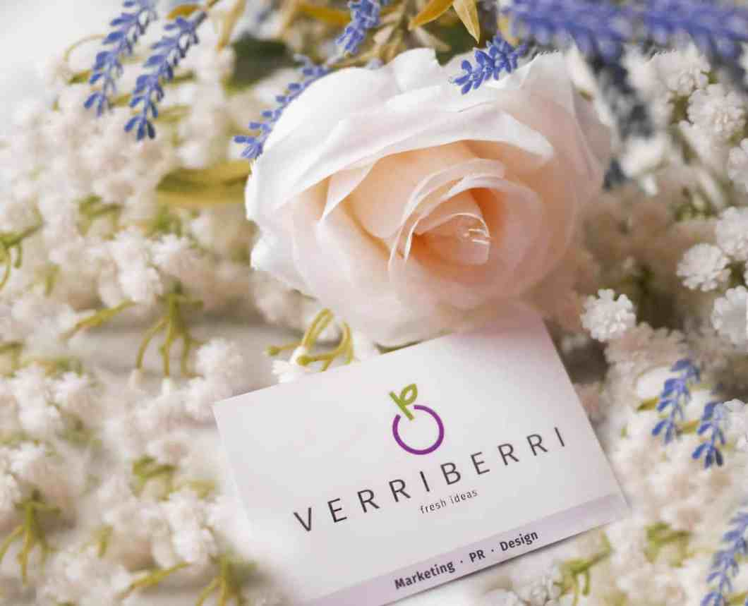 Flower and marketing branding logo