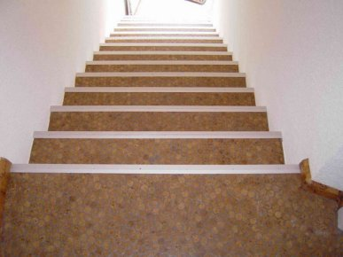 versacork-mosaic-prefinished-Versacork Stairway