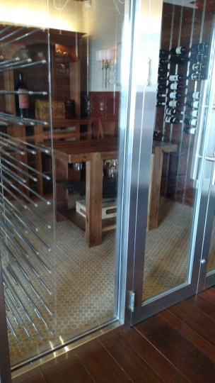 versacork-mosaic-prefinished-Wine Room Florida
