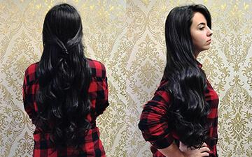 Mega Hair de qualidade é no Salão Versátil