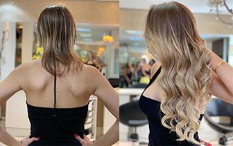 Mega Hair Ombre Hair