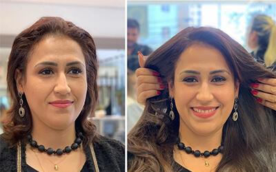 Uma transformação que levanta a autoestima de qualquer mulher.