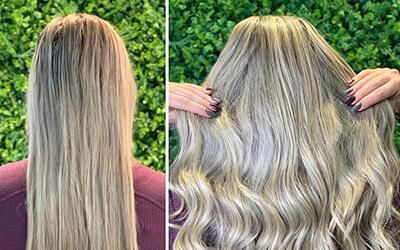 O seu cabelo dos sonhos está aqui ! Alongamento com cabelo brasileiro❣️