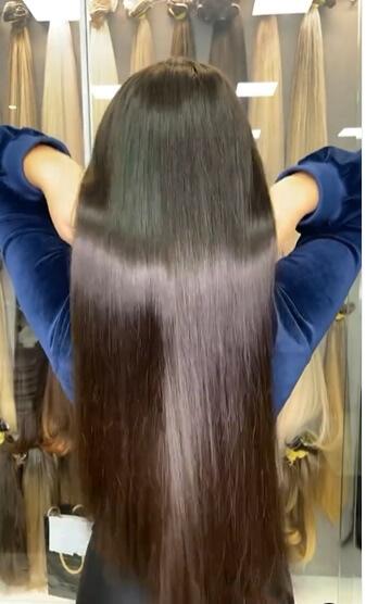 Mega hair alonga seus cabelos