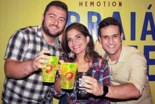 Alexandre, Nayara e Lucas