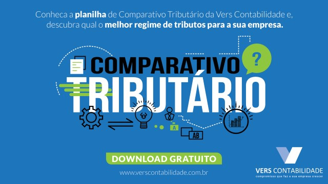 Planilha COMPARATIVO TRIBUTÁRIO
