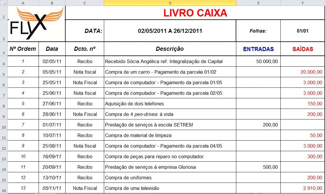 Resultado de imagem para LIVRO CAIXA