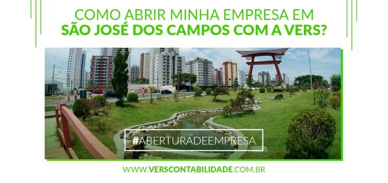Como abrir minha empresa em São José dos Campos com a Vers Contabilidade - 390X230px
