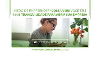 Medo de empreender Com a Vers você tem mais tranquilidade para abrir sua empresa - 390X230px