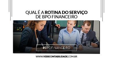 Rotina de Serviços de BPO Financeiro