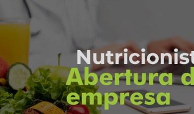 nutricionista abertura de empresa