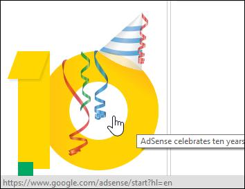 Happy Birthday AdSense