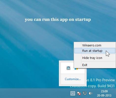 hide Start Button of Windows 8.1