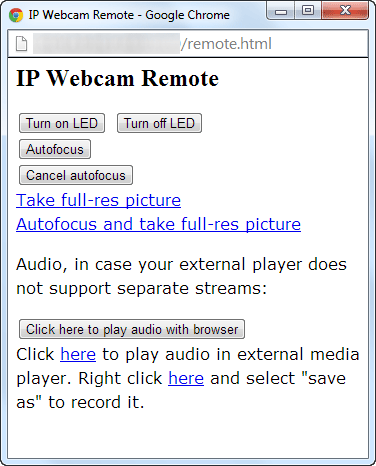 Use Android Mobile as Webcam for PC