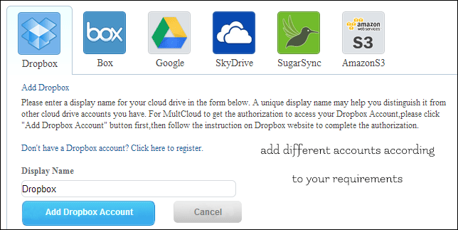 Manage Multiple Cloud Storage from One Place Using MultCloud