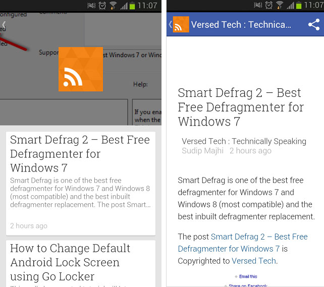 add RSS Feed in Google Play Newsstand