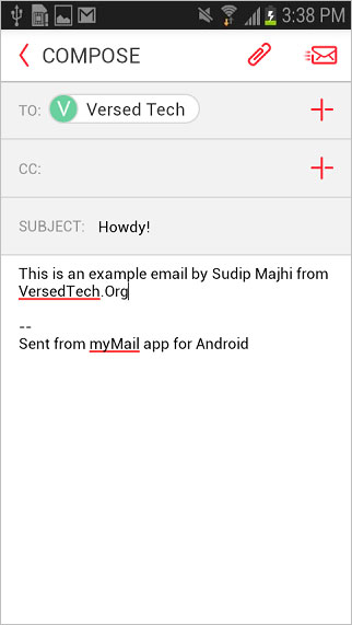 myMail for Android