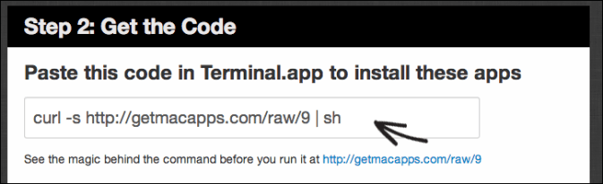 Install Apps using Terminal in Mac with GetMacApps