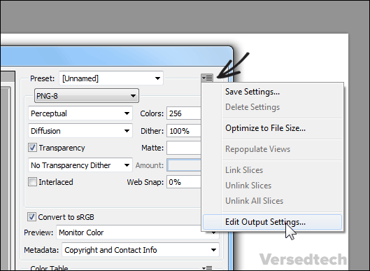 Prevent Photoshop from Creating Hyphen when Saving for Web