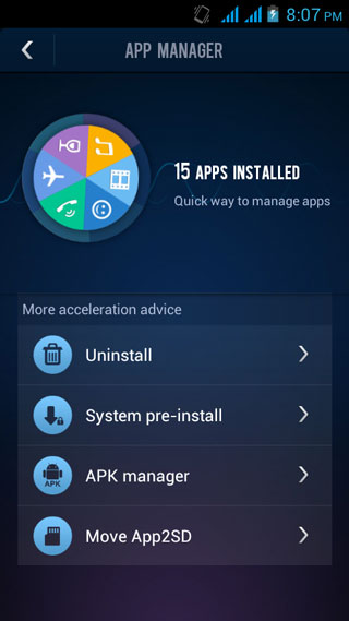 du speed booster app manager