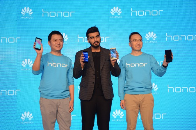 Huawei Launches Honor 6 Plus and Honor 4X Arjun kapoor