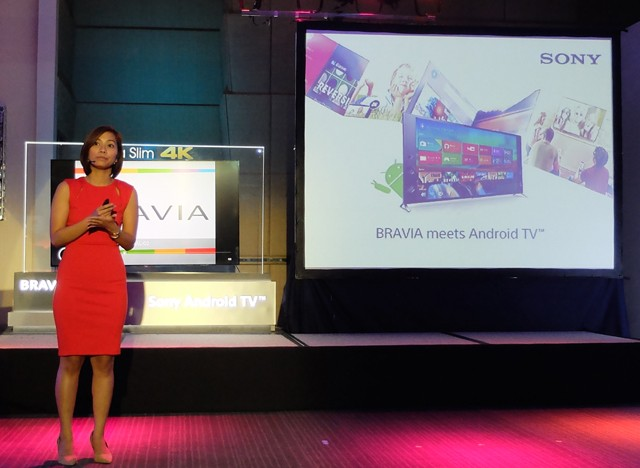 Sony launches Android TV Line up and the world's Slimmest LED TV.