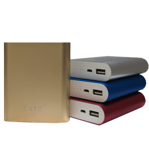 CATZ 10400 mAh Power Bank