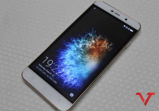 Coolpad Note 3 Lite Front view