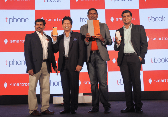 Smartron t.book and t.phone launch event