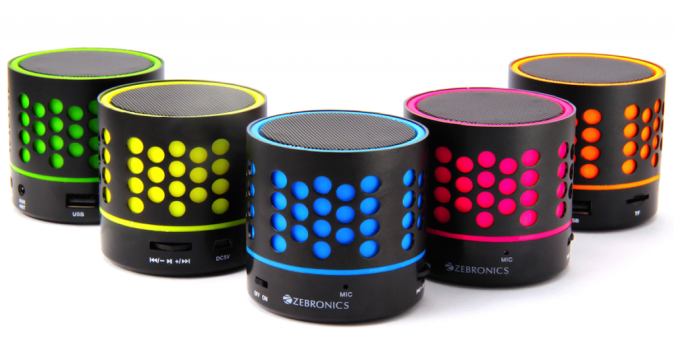 Zebronics DOT Bluetooth Speakers
