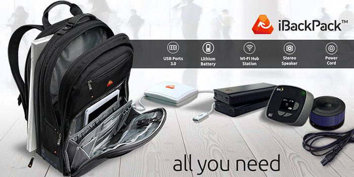 iBackPack, The next generation backpack