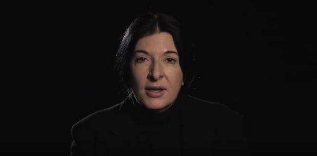 Maria Abramovic -grandmother of performance art