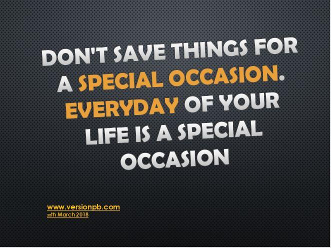 One Liner Quote on Special Occasion