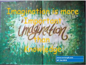 One Liner Quote on Imagination