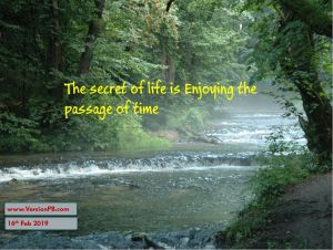 One Liner Quote on Secret of Life