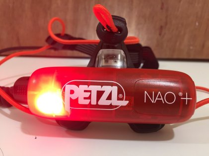 lampe frontale Petzl NAO ® + (b)