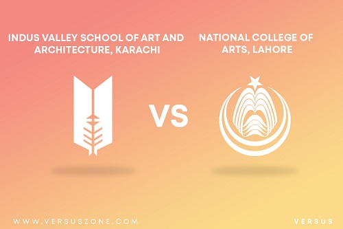 NCA, Lahore VS Indus Valley School of Art and Architecture, Karachi